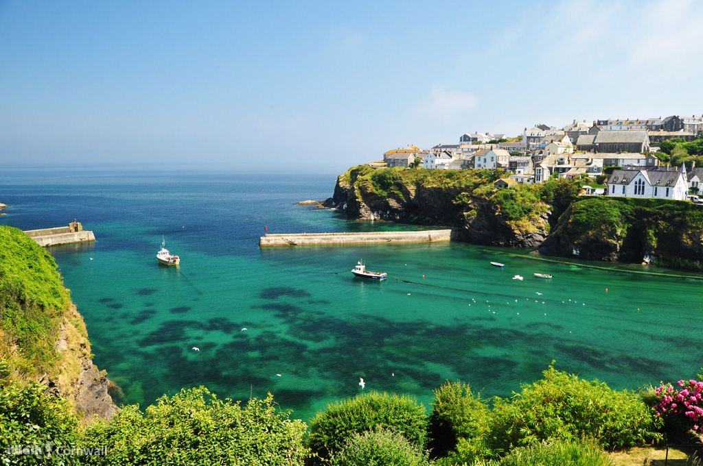Map For Circular Walk Around Port Isaac And Port Gaverne